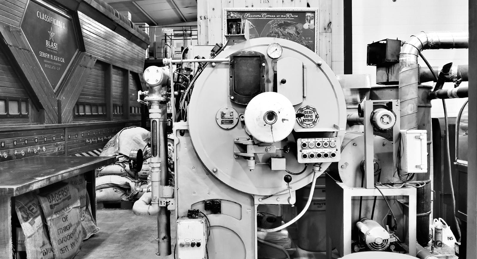 커피명가 로스팅 머신